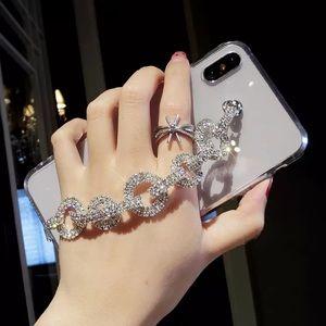 Accessories - Clear Diamond Bracelet iPhone Case